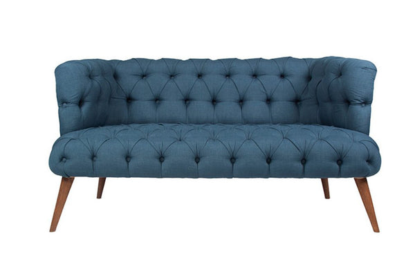 West Monroe Loveseat, Midnight Blue