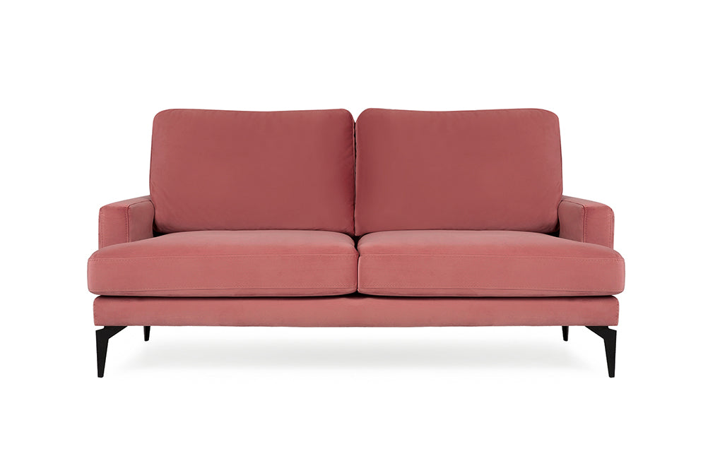 Matilda Two Seater Sofa, Dusty Rose