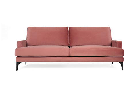 Matilda Three Seater Sofa, Dusty Rose