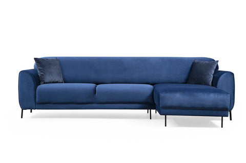 Cloud Corner Sofa Bed, Blue