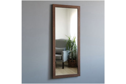 Neostill Wall Mirror, Walnut
