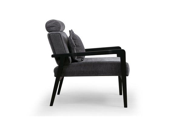 Soho Armchair, Anthracite Grey