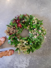 Load image into Gallery viewer, Modern & Hydrated Wreath - SOLD OUT