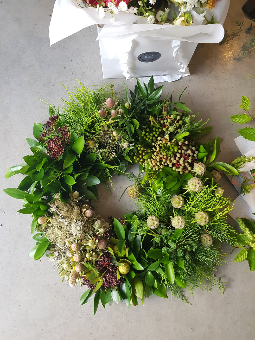Modern & Hydrated Wreath - SOLD OUT