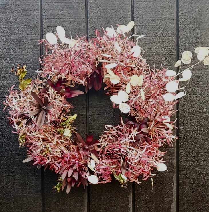 Dried Wreath - SOLD