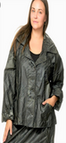 Hooded Drawstring Jacket