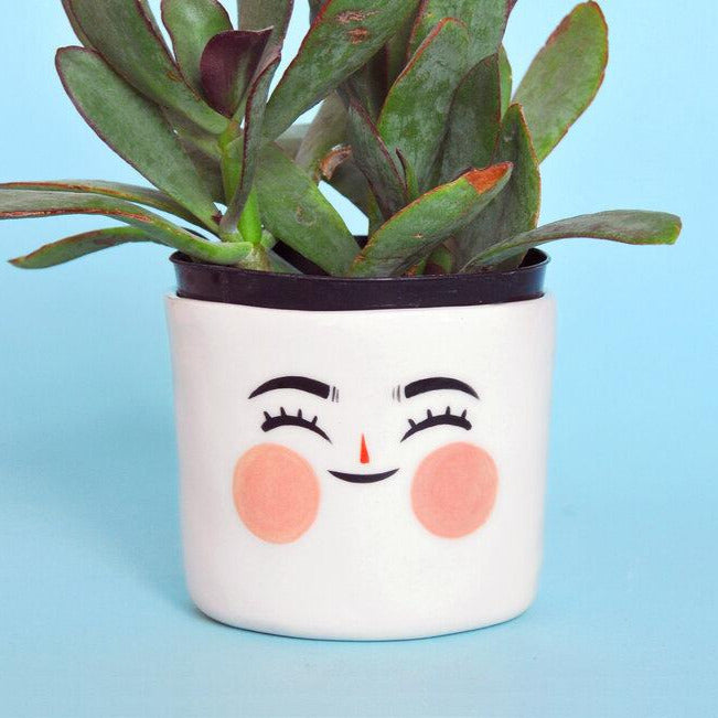PREORDER- Happy Planter- 3""