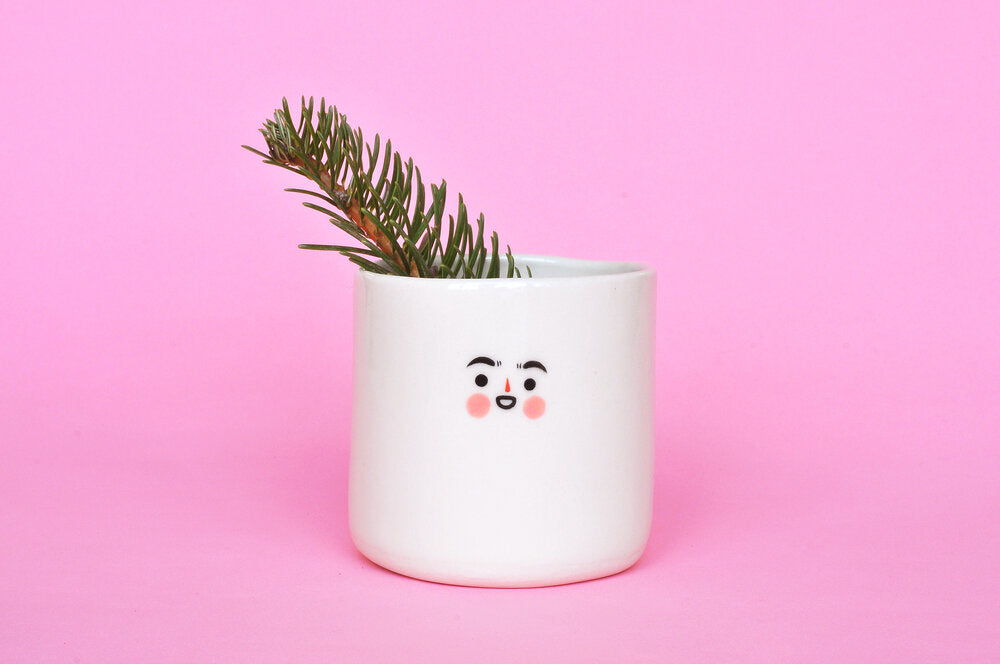 Tiny Face Planter- 3""