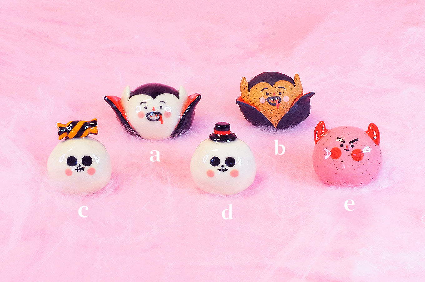 MADE TO ORDER- Halloween Friends- Skeletons, Vampires, Lil' Devil