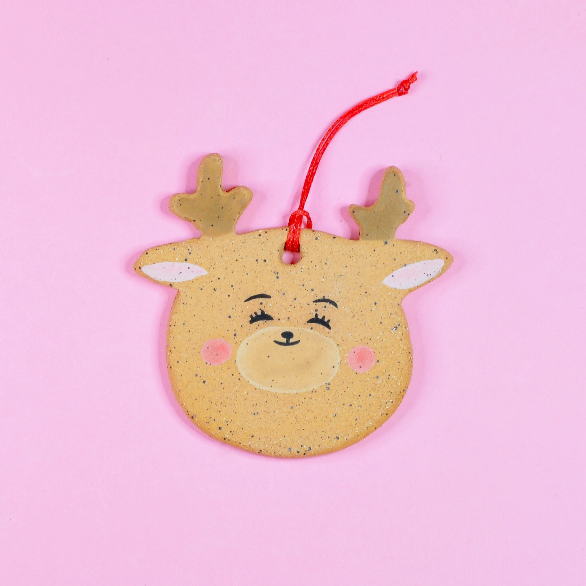 Little Reindeer Friend Ornament