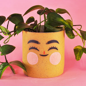 Big Happy Speckled Planter- 5.5""