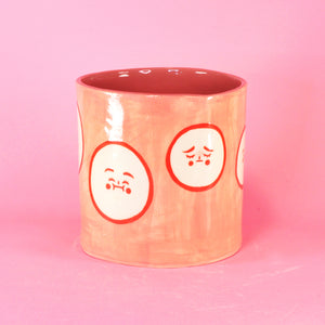 "Many Emotions Planter- 5.5"" (seconds)"