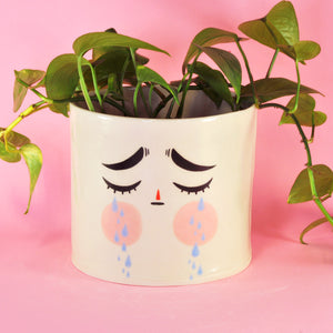 Big Cry Planter- 6.5""