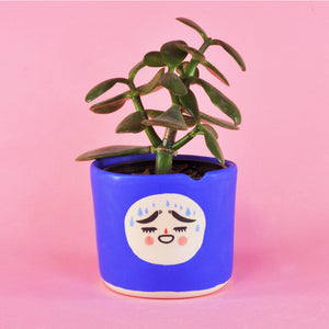 "Little Blue Chip Planter- 3"" (seconds)"