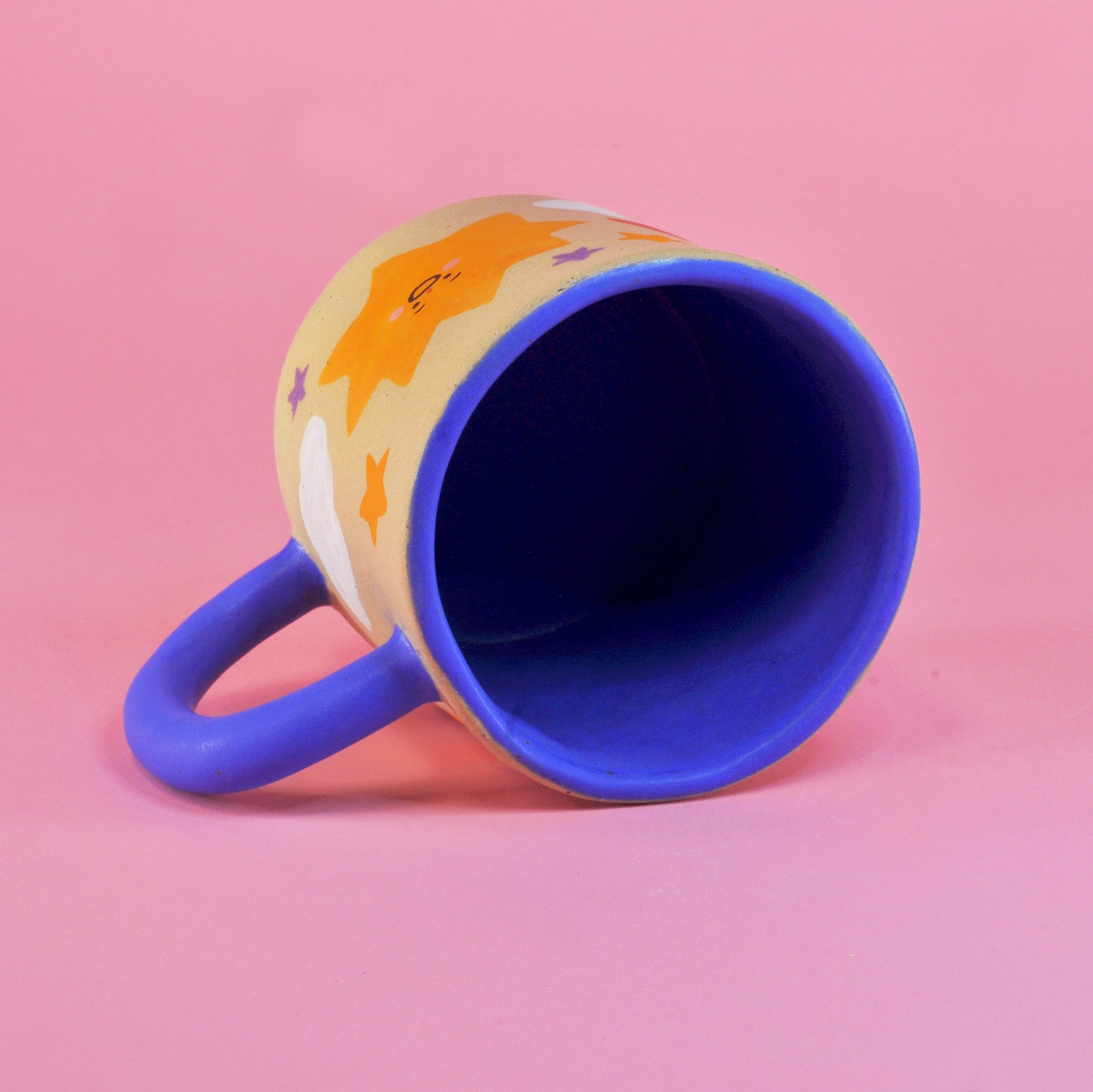 Big Moon and Sun Mug