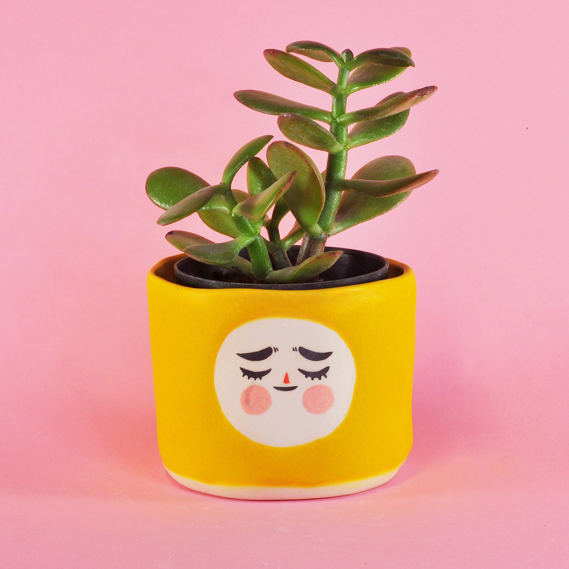 Little Yellow Planter- 3""