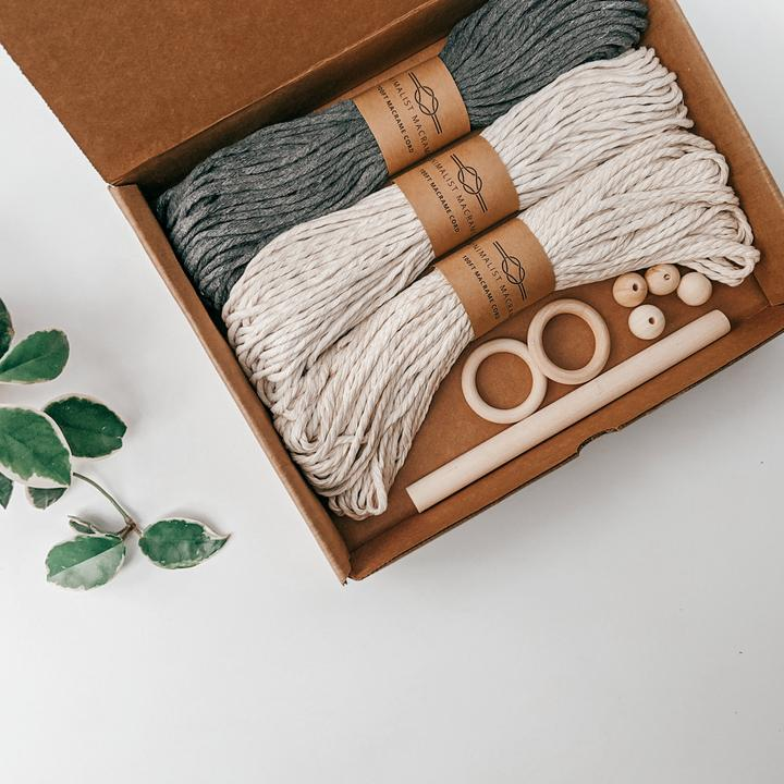 Macrame DIY Supply Kit