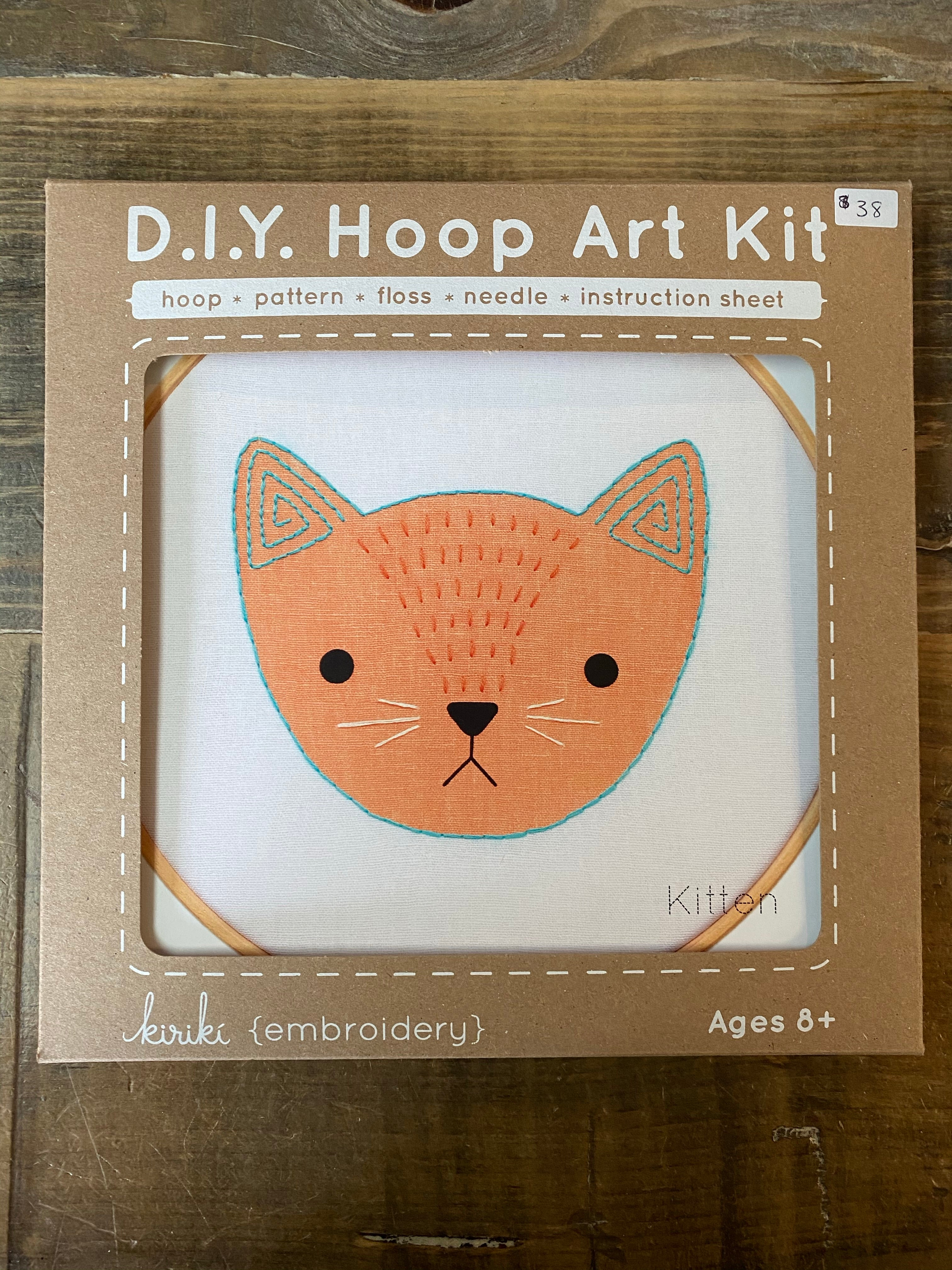 D.I.Y. Hoop Art Kit