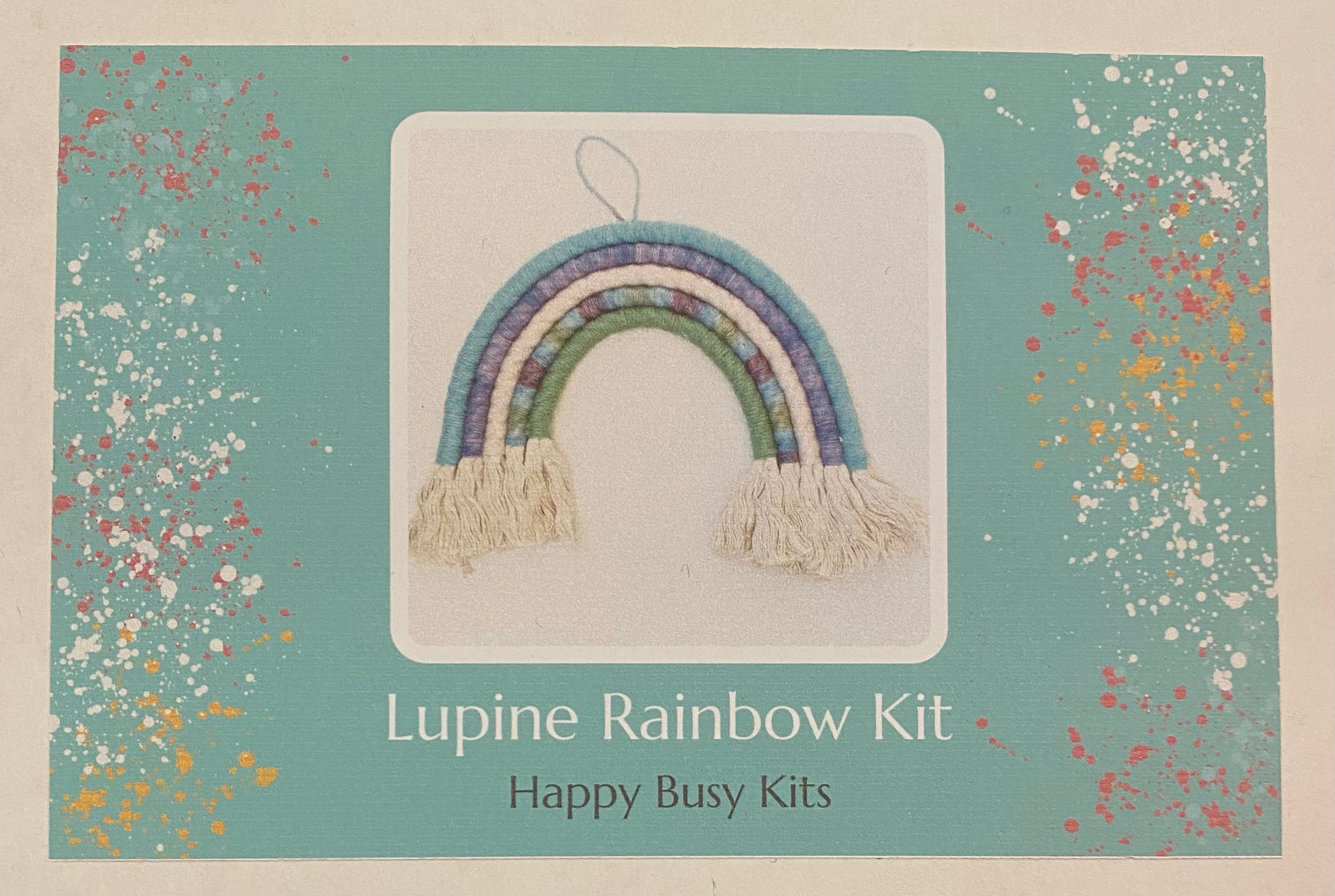 Rainbow Macrame Kits