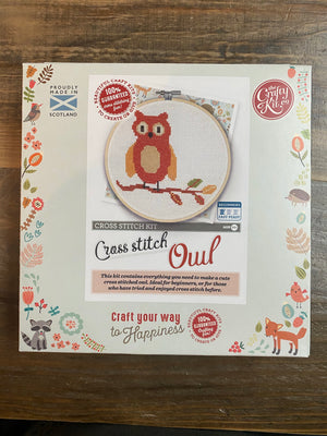 Open image in slideshow, Crafty Kit co. Cross-Stitch Kits