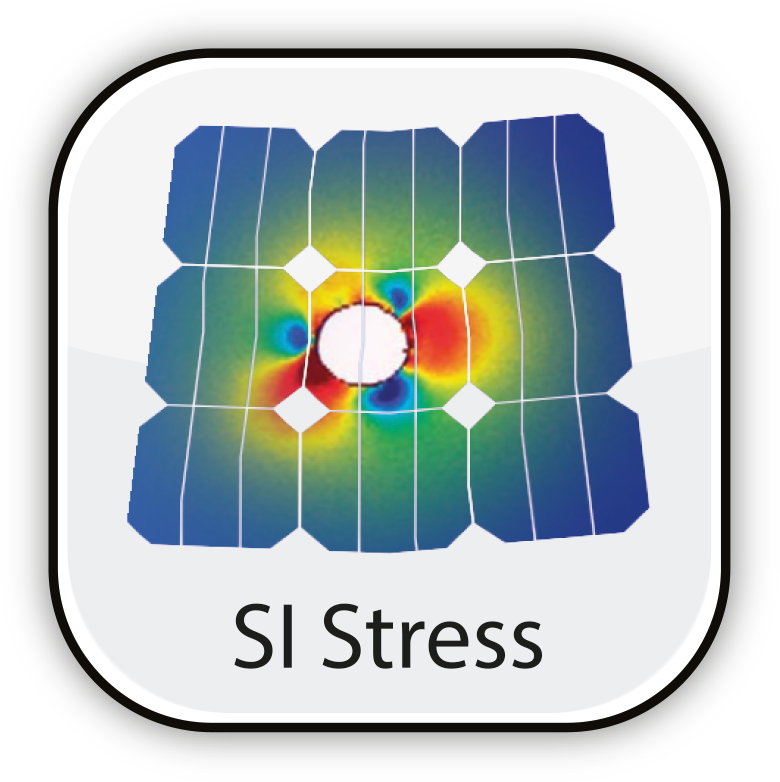 Si Stress: Silicon Stress Analysis for testing applications microcrystalline Si