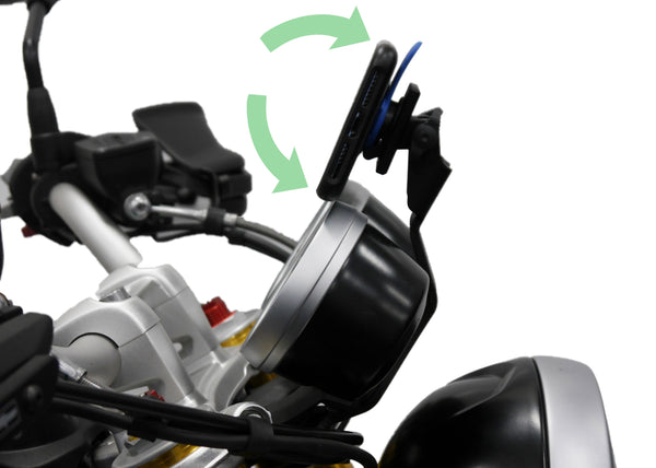 EP Quad Lock Compatible Sat Nav Mount - BMW R nineT Pure (2017+)