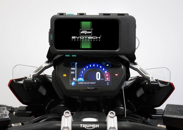 EP Ultimateaddons Compatible Sat Nav Mount - Triumph Tiger 1200 XRX (2018+)