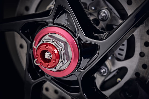 EP Rear Spindle Bobbins - Triumph Speed Triple RS (2018+)