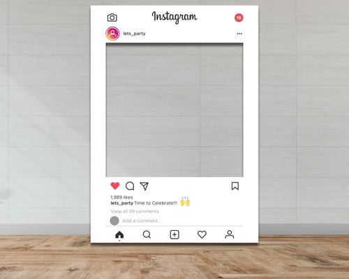 Customisable Instagram Selfie Frame-Selfie Frames