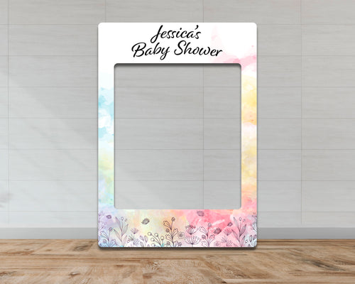 Customisable Baby Shower Selfie Frame-Selfie Frames