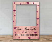 Load image into Gallery viewer, Hen Party 'The Bride Tribe' Selfie Frame-Selfie Frames