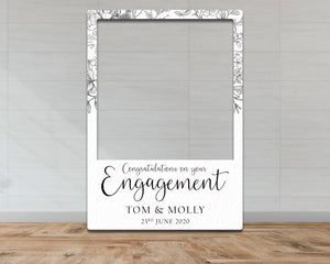 Customisable Engagement Selfie Frame-Selfie Frames