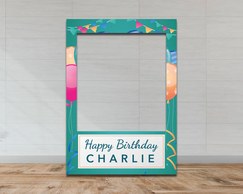Customisable Birthday Selfie Frame-Selfie Frames