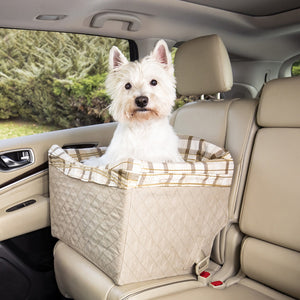 Happy Ride™ Quilted Dog Safety Seat