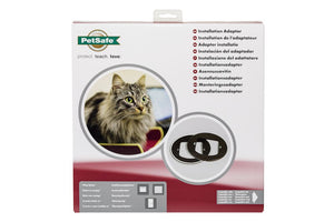 Installation Adaptor for Microchip Cat Flap & Manual-Locking Cat Flap
