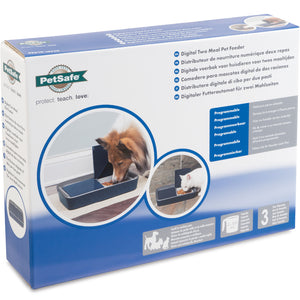 Digital Two Meal Pet Feeder