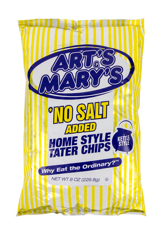 Art's & Mary's - No Salt Added Home Style Tater Chips