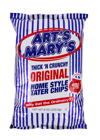 Art's & Mary's - Original Home Style Tater Chips