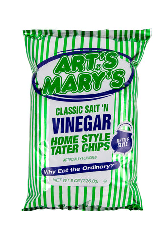 Art's & Mary's - Variety Case Vinegar Home Style Tater Chips