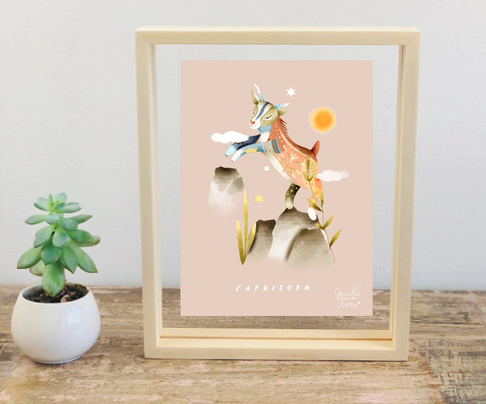 Star Sign Print Frames