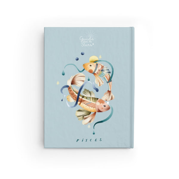 Pisces Zodiac Print Journal - Guide from the Stars