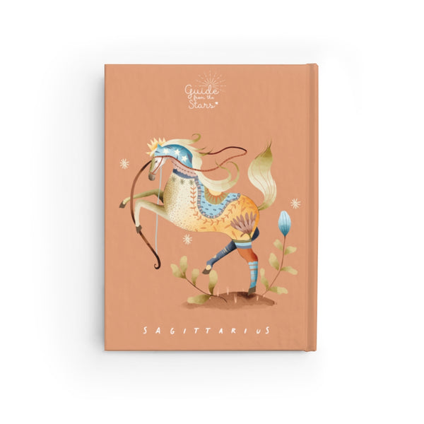 Sagittarius Zodiac Print Journal - Guide from the Stars
