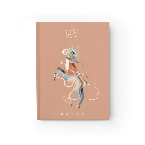 Aries Zodiac Print Journal - Guide from the Stars