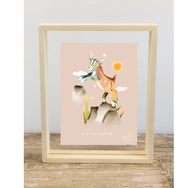 Aquarius Star Sign Picture Frame - Guide from the Stars