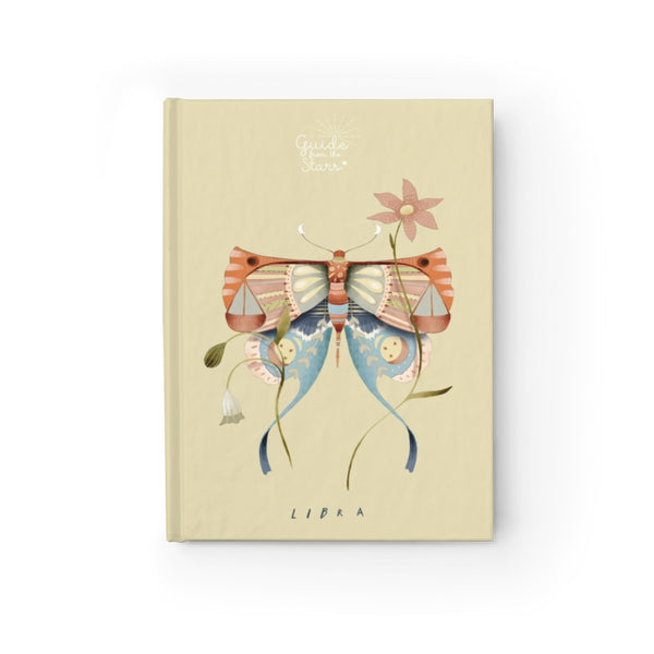 Libra Zodiac Print Journal - Guide from the Stars