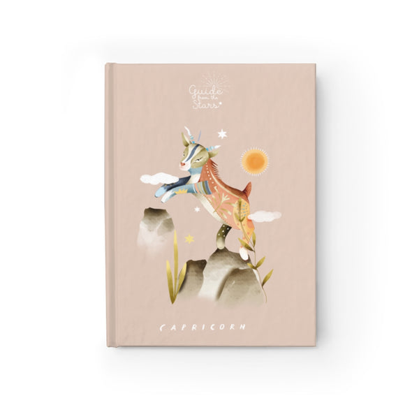Capricorn Zodiac Print Journal - Guide from the Stars