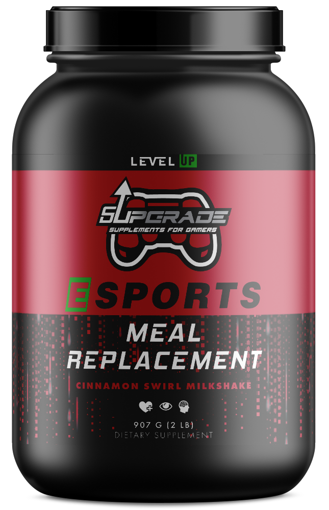 ESPORTS MEAL REPLACEMENT- Delicious protein packed all natural instant meal!