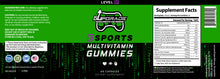 Load image into Gallery viewer, ESPORTS MULTIVITAMIN GUMMIES - Complete Multivitamin