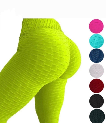 New Super Stretchy Scrunch Booty Leggings - Sunkissed Fitness LLC