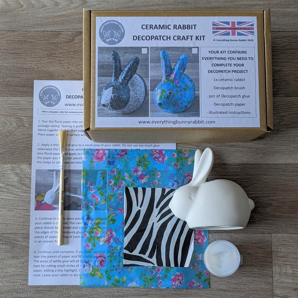 BUNNY DECOPATCH KIT (FLORAL)